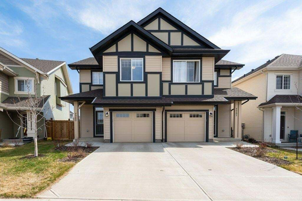 Townhouse for sale at 7753 Eifert Cres NW Edmonton Alberta - MLS: E4196365