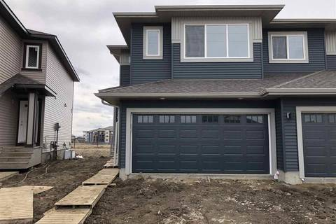 Townhouse for sale at 7767 174b Ave Nw Edmonton Alberta - MLS: E4146866