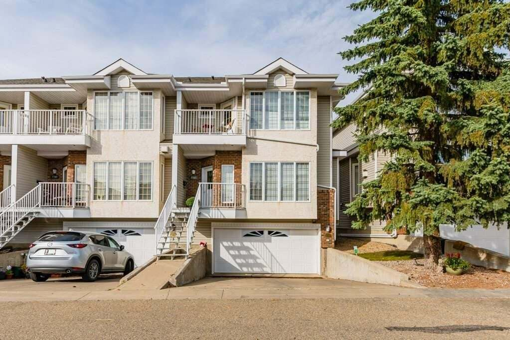Townhouse for sale at 7767 96 St NW Edmonton Alberta - MLS: E4215411