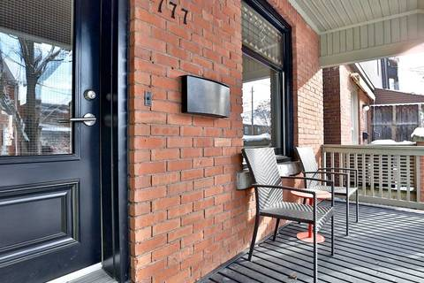 Townhouse for rent at 777 Euclid Ave Toronto Ontario - MLS: C4661946