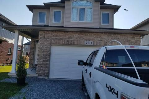 House for sale at 7771 Hanniwell St Niagara Falls Ontario - MLS: X4510905
