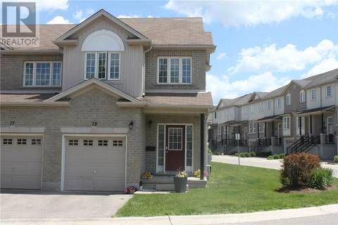 Townhouse for sale at 105 Pinnacle Dr Unit 78 Kitchener Ontario - MLS: 30743804