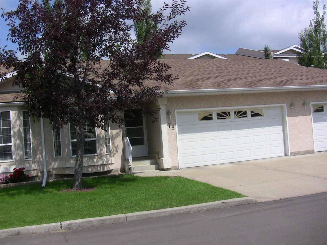 Townhouse for sale at 13320 124 St Nw Unit 78 Edmonton Alberta - MLS: E4166047