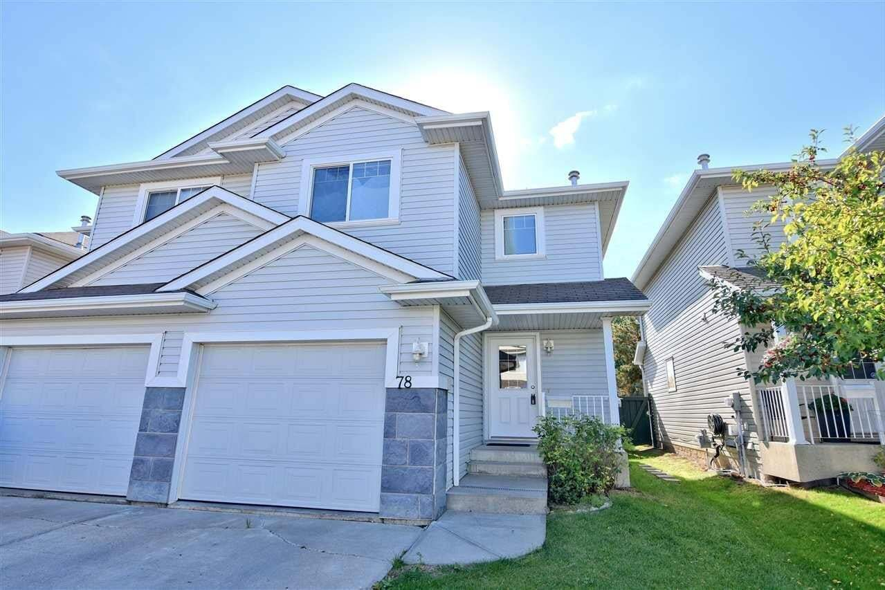Townhouse for sale at 2021 Grantham Co NW Unit 78 Edmonton Alberta - MLS: E4214099