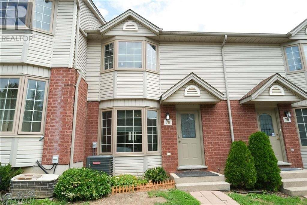 Townhouse for sale at 70 Chapman Ct Unit 78 London Ontario - MLS: 279571