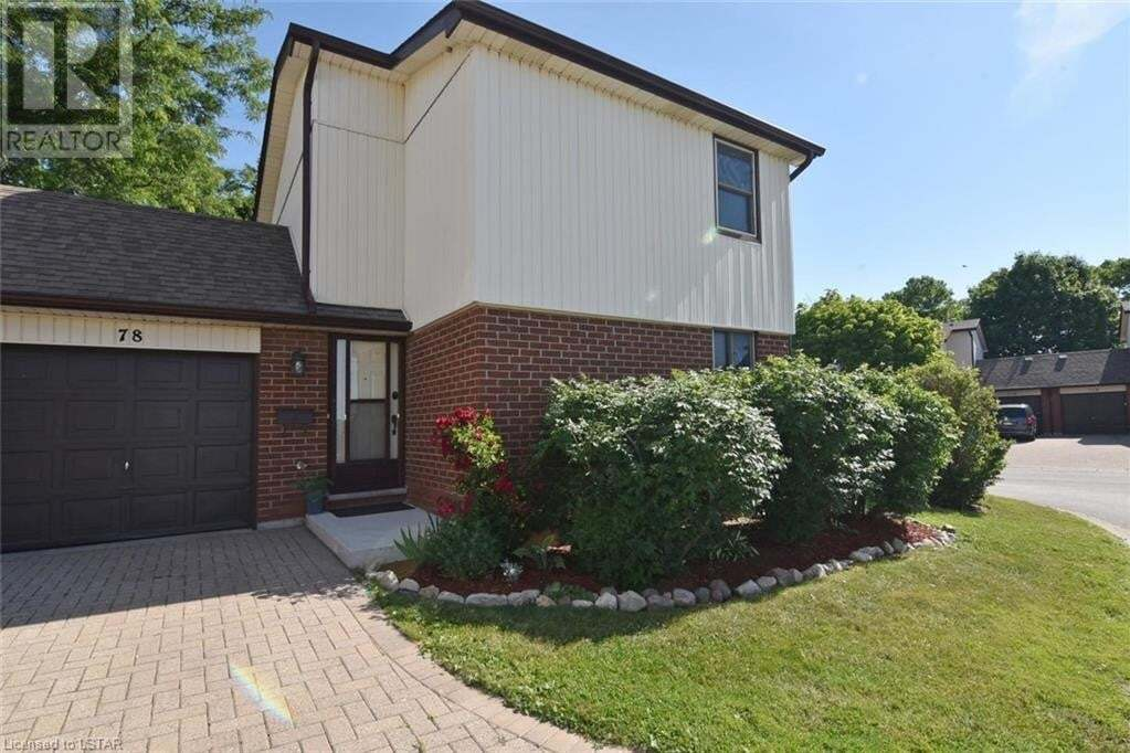 Townhouse for sale at 971 Adelaide St S Unit 78 London Ontario - MLS: 269246