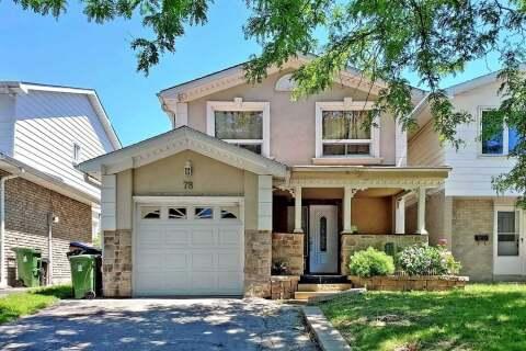 Home for sale at 78 Ashridge Dr Toronto Ontario - MLS: E4794516