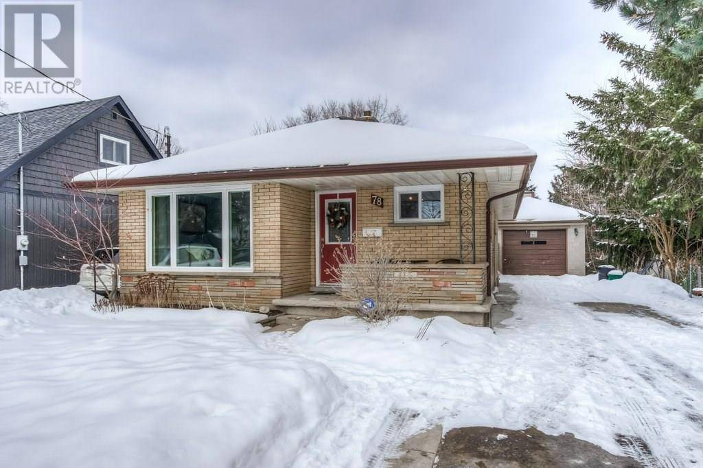 House for sale at 78 Belmont Ave East Kitchener Ontario - MLS: 30792100