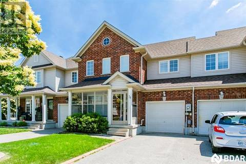 Townhouse for sale at 78 Bentley Cres Barrie Ontario - MLS: 30751421