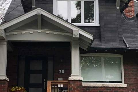 Townhouse for rent at 78 Cairns Ave Toronto Ontario - MLS: E4670789