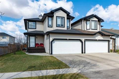 Townhouse for sale at 78 Canoe Sq Southwest Airdrie Alberta - MLS: C4242020