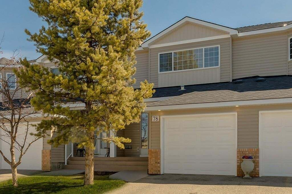 Townhouse for sale at 78 Chaparral Ridge Tc SE Chaparral, Calgary Alberta - MLS: C4294405