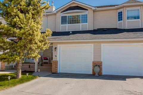Townhouse for sale at 78 Chaparral Ridge Te Southeast Calgary Alberta - MLS: C4279031