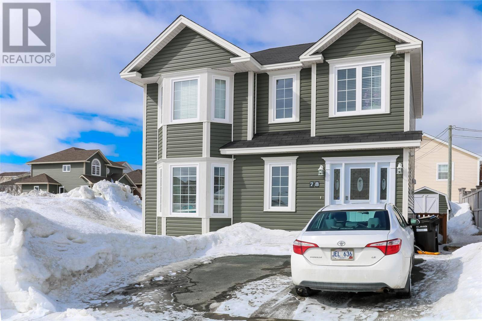 House for sale at 78 Cherokee Dr St. John's Newfoundland - MLS: 1211921
