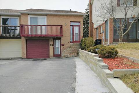 Townhouse for sale at 78 Copperwood Sq Toronto Ontario - MLS: E4406527