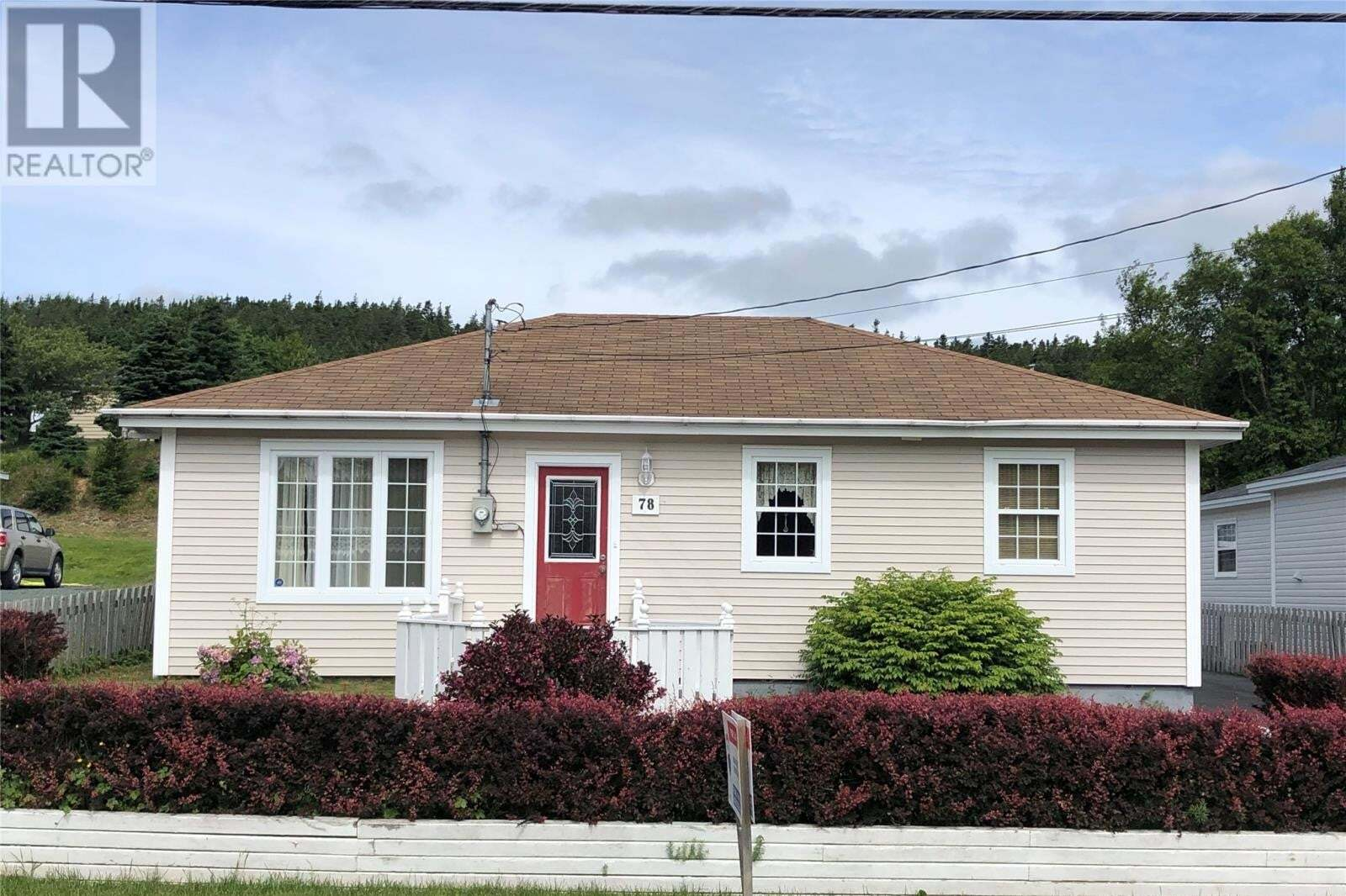 House for sale at 78 Country Rd Bay Roberts Newfoundland - MLS: 1217274