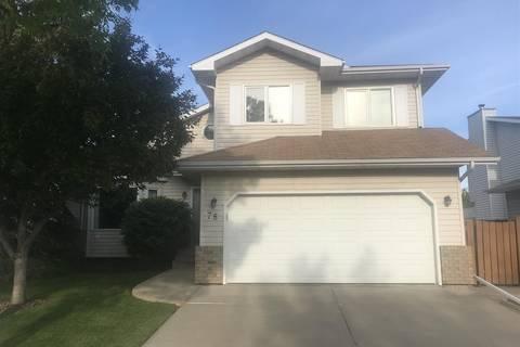 House for sale at 78 Dufferin St St. Albert Alberta - MLS: E4159782
