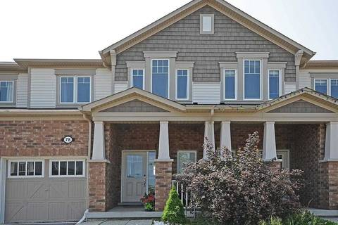 Townhouse for sale at 78 Glenvista Dr Kitchener Ontario - MLS: X4514521