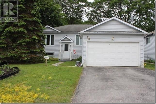 House for sale at 78 Leo Blvd Wasaga Beach Ontario - MLS: 205058