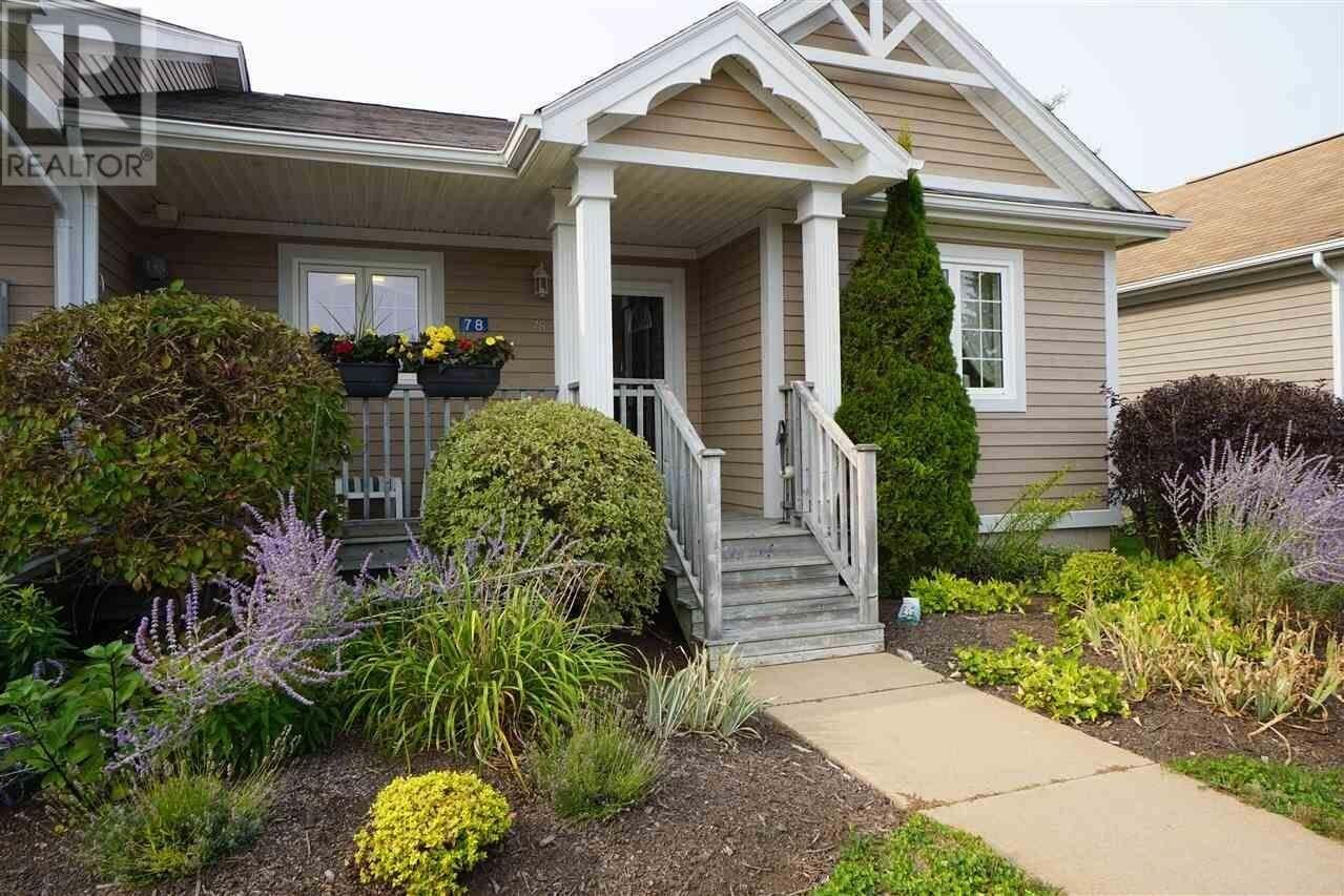 Townhouse for sale at 78 Millennium Dr Chester Nova Scotia - MLS: 202019245