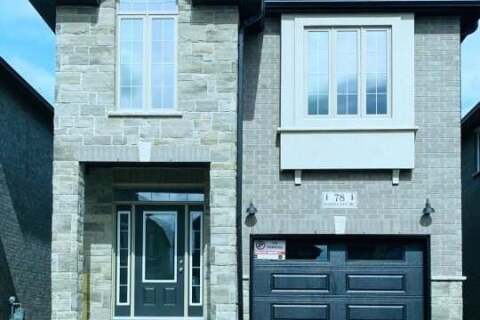 House for rent at 78 Pondcliffe Dr Kitchener Ontario - MLS: X4962360