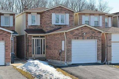 House for sale at 78 Seamist Cres Toronto Ontario - MLS: E4390354