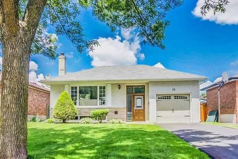 House for sale at 78 Seneca Ave Oshawa Ontario - MLS: E4483713