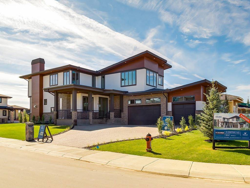 House for sale at 78 Stoneypointe Pl Watermark, Rural Rocky View County Alberta - MLS: C4228643