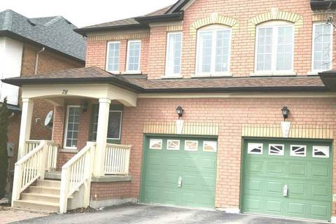 Townhouse for rent at 78 Weatherill Rd Markham Ontario - MLS: N4392310