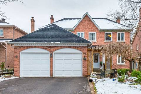 House for sale at 78 Woodman's Chart Blvd Markham Ontario - MLS: N4638326