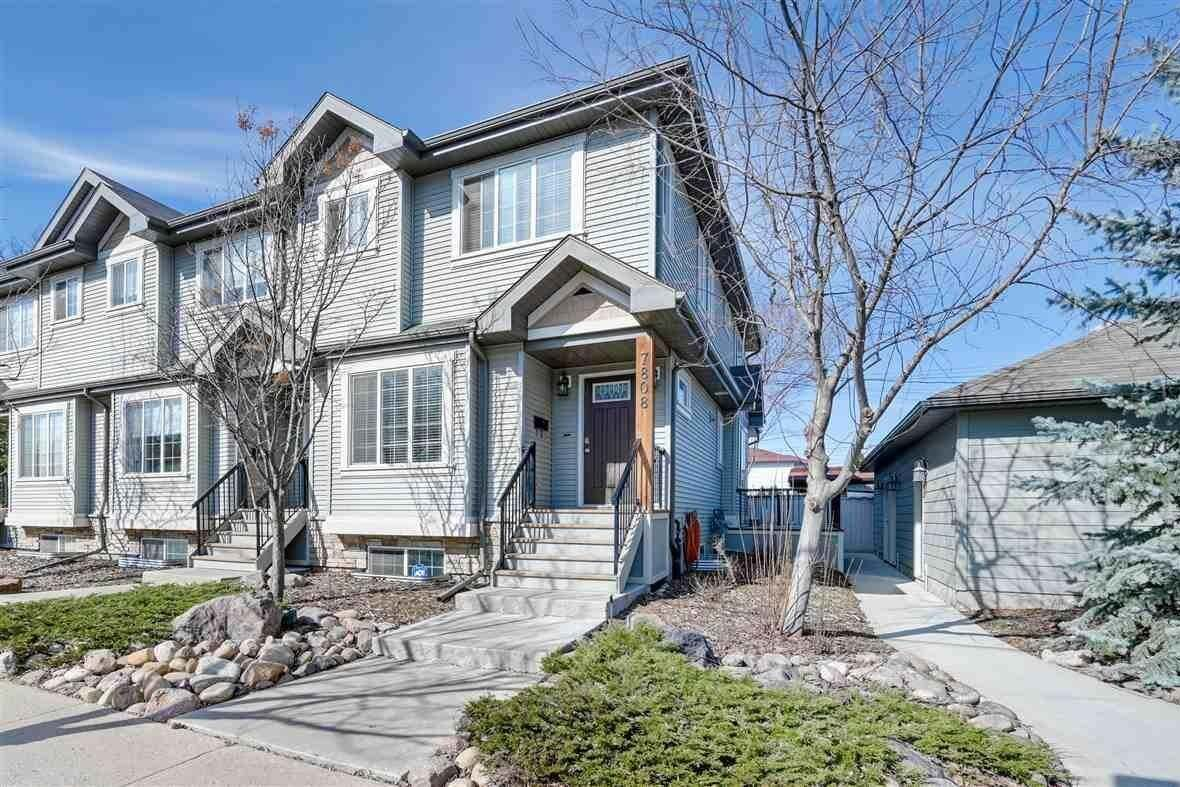 Townhouse for sale at 7808 97 St NW Edmonton Alberta - MLS: E4194800