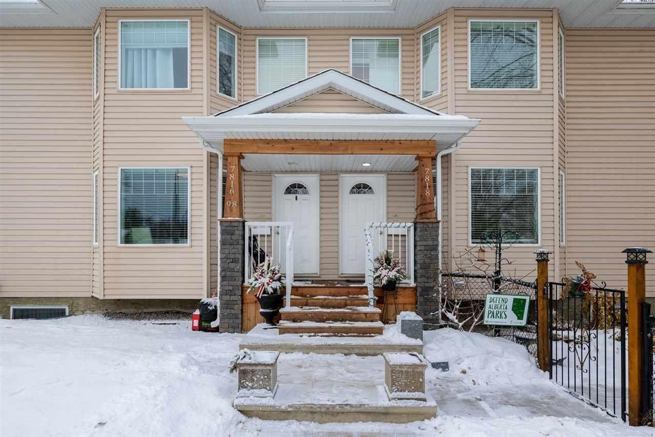 Townhouse for sale at 7818 98 St NW Edmonton Alberta - MLS: E4225268