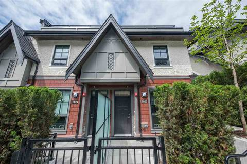 Townhouse for sale at 7823 Oak St Vancouver British Columbia - MLS: R2404600