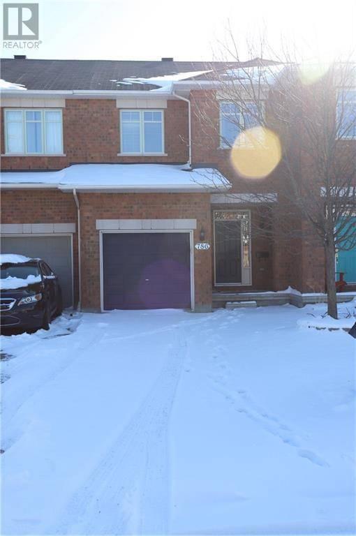 Townhouse for rent at 786 Nakina Wy Ottawa Ontario - MLS: 1175083