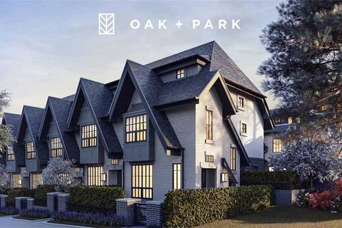 Townhouse for sale at 7863 Oak St Vancouver British Columbia - MLS: R2378740