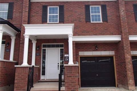 Townhouse for sale at 787 Banks Cres Milton Ontario - MLS: W4412052
