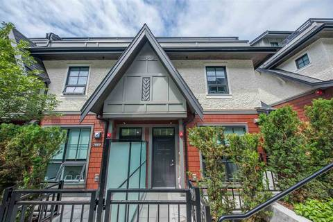 Townhouse for sale at 7883 Oak St Vancouver British Columbia - MLS: R2404586