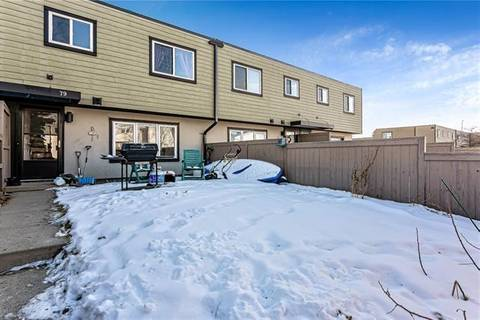 Townhouse for sale at 3809 45 St Southwest Unit 79 Calgary Alberta - MLS: C4280129