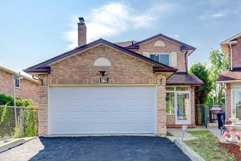 House for sale at 79 Bethany Leigh Dr Toronto Ontario - MLS: E4535866