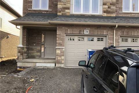 Townhouse for rent at 79 Bethune Ave Hamilton Ontario - MLS: X4671566