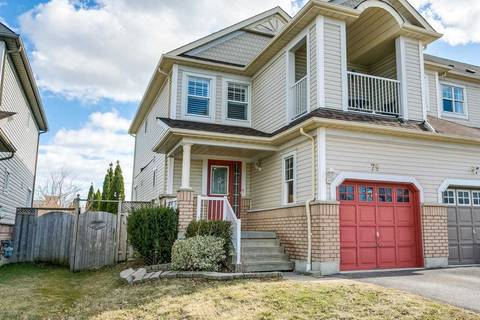 Townhouse for sale at 79 Candlebrook Dr Whitby Ontario - MLS: E4412547