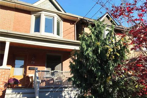 Townhouse for rent at 79 Coady Ave Toronto Ontario - MLS: E4626539