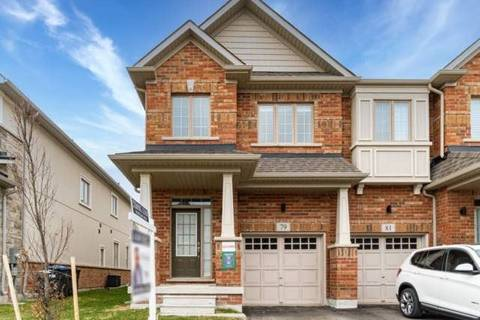 Townhouse for sale at 79 Doris Pawley Cres Caledon Ontario - MLS: W4750558