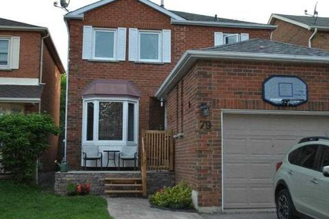 Home for sale at 79 Fernbank Pl Whitby Ontario - MLS: E4454966