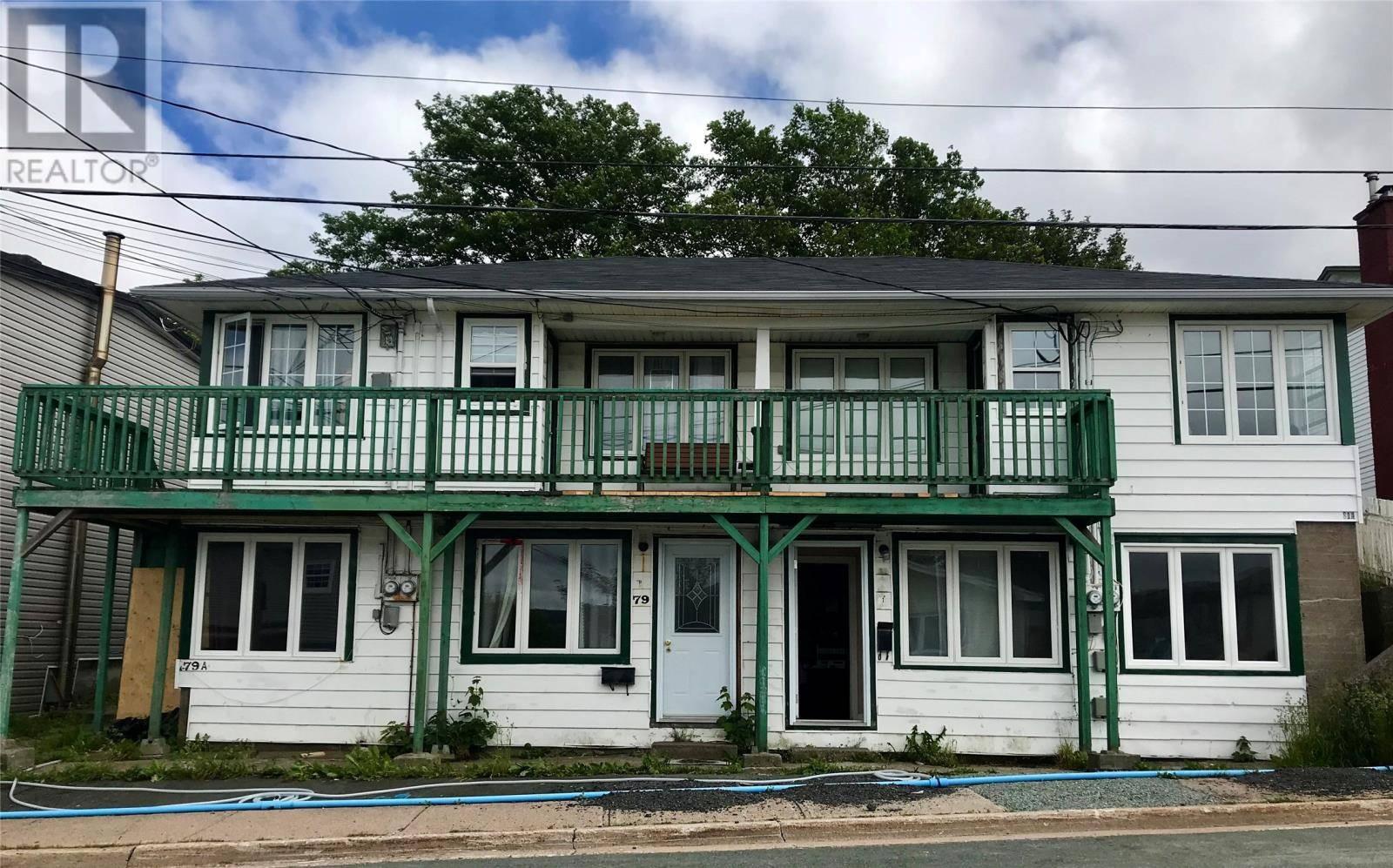 Townhouse for sale at 79 Goodridge St St. John's Newfoundland - MLS: 1210015