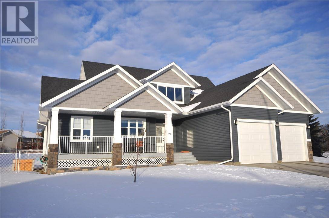 House for sale at 79 Iron Wolf Blvd Lacombe Alberta - MLS: ca0188399