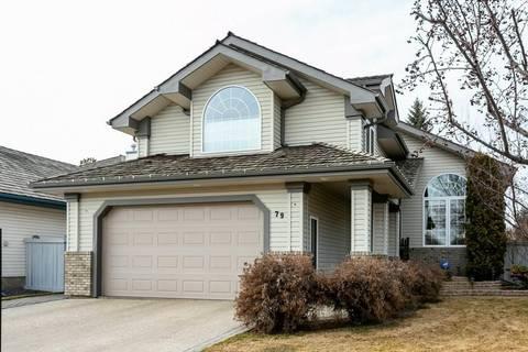 House for sale at 79 L'hirondelle Ct St. Albert Alberta - MLS: E4150809