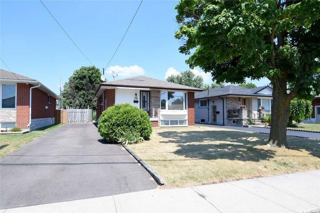 House for sale at 79 Luscombe St Hamilton Ontario - MLS: H4082269