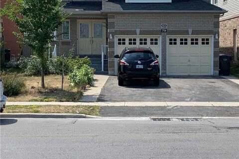 House for rent at 79 Pertosa Dr Brampton Ontario - MLS: W4774996