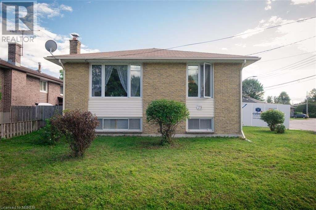 House for sale at 79 Prince Edward Dr North Bay Ontario - MLS: 40013259